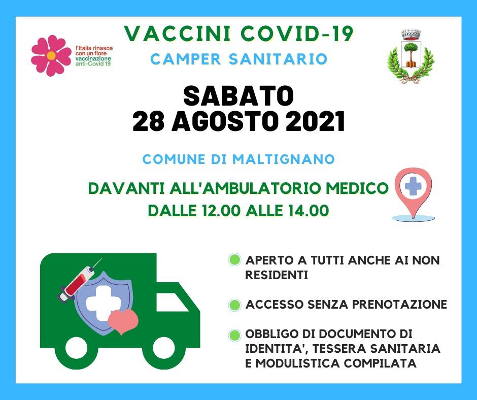 Camper vaccinale