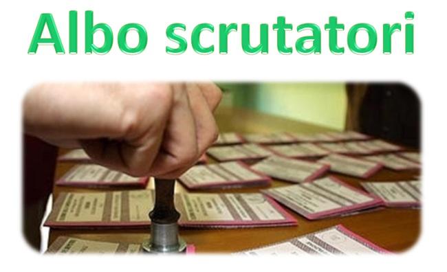 SCRUTATORI DI SEGGIO