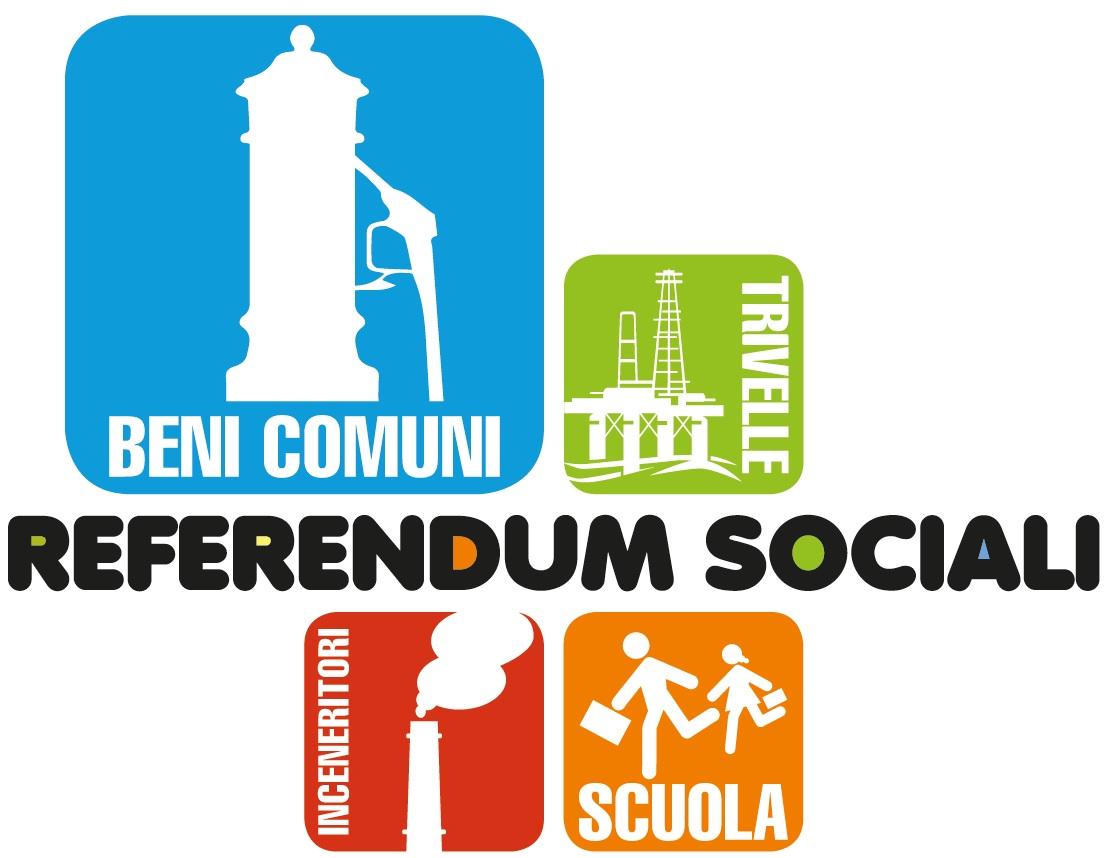 REFERENDUM SOCIALI 2016 E PETIZIONE POPOLARE