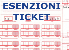 ESENZIONE TICKET SANITARIO