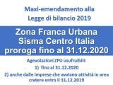 SISMA 2016 - ZONE FRANCHE URBANE (ZFU)